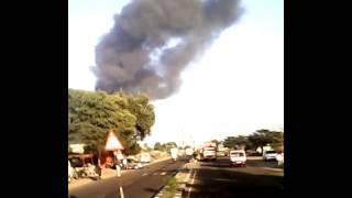 Fire on tyre company jalna