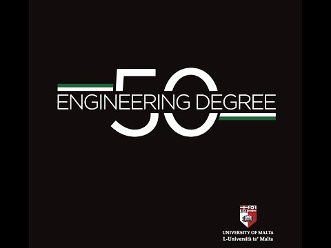 50th Anniversary of the Engineering Degree - University of Malta