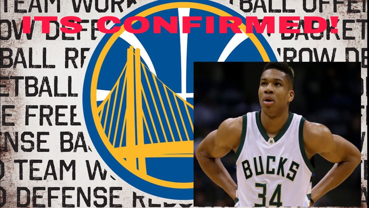 GIANNIS ANTETOKOUNPO JOINING WARRIORS!(CONFIRMED)TELLS STEPHEN CURRY HE'D LOVE TO BE WITH WARRI