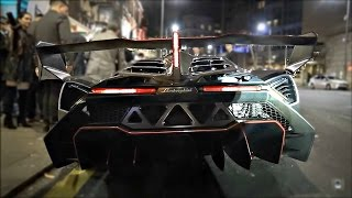 £6 million Lamborghini Veneno causes CHAOS in Central London! thumbnail