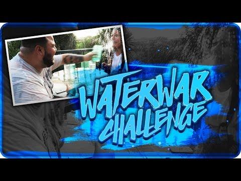 WATER WAR CHALLENGE !!!