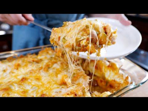 oven-baked-breakfast-casserole-recipe-|-(chorizo,-potatoes,-and-eggs)