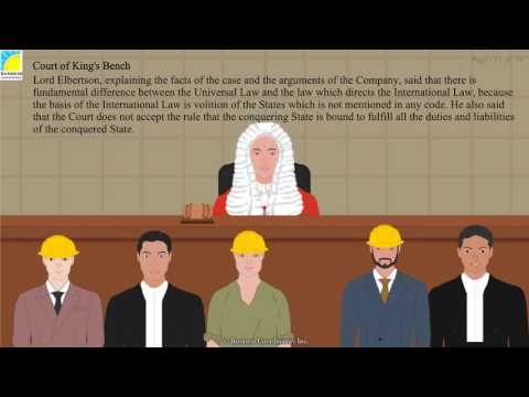 Human Rights And International Law - West Rand Mining Co. Vs Emperor