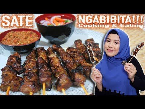 Masak & Makan SATE TAHUN BARU 2018 🎉