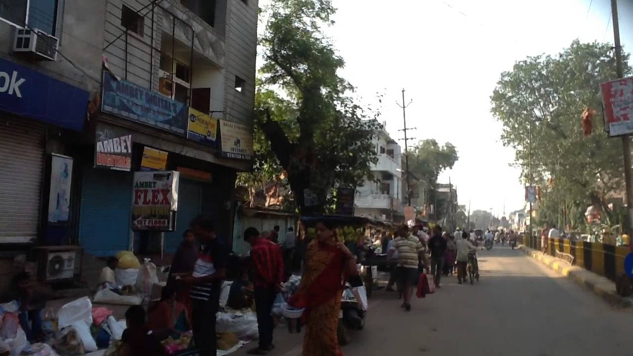 Jsglive In A View Of Diwali Market At Jhanda Chowk Youtube