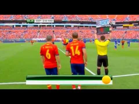 Fernando Torres (C) vs Haiti (Home) 13-14 HD 720p [International Friendly]