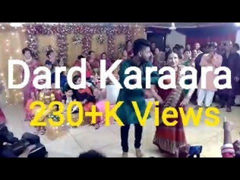Dard Karara dance at sangeet