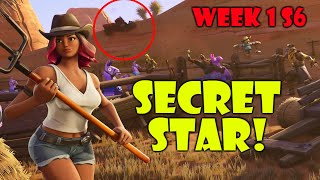 Fortnite SECRET BATTLE STAR WEEK 1 (Season 6)