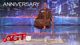 Special Head Levitates and Shocks the World - America's Got Talent 2020