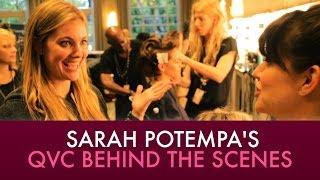 Sarah Potempa's Beach Waver, Wrap Ups, and more for QVC   Jaime Greenberg Makeup Thumbnail