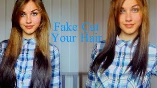 Easy Fake Cut Hairstyle | Stella Cini Thumbnail