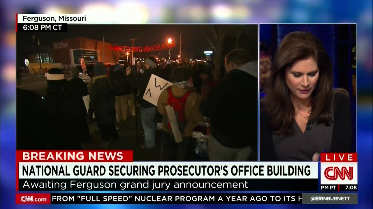 CNN World News Picture: CNN Breaking News: Van Jones Awaiting Ferguson Grand Jury