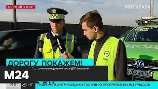 ЦОДД помогает водителям после ДТП бесплатно - Москва 24