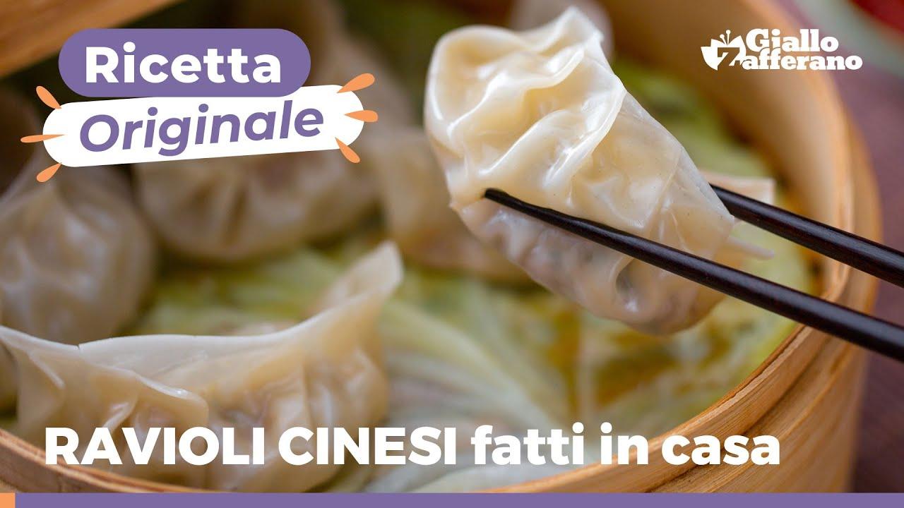 Ricetta Gyoza Giallo Zafferano.Ravioli Cinesi Di Carne Cottura Al Vapore E Alla Griglia Youtube