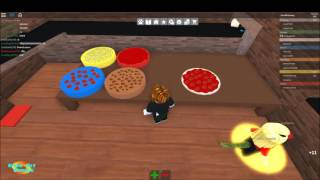 Roblox - Adam works at a Pizza Place