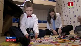 В Бресте в двух детских домах семейного типа отпраздновали новоселье