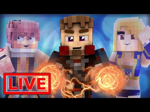 Minecraft FAIRY TAIL ORIGINS LIVE #27.1 (Minecraft Modded Roleplay)