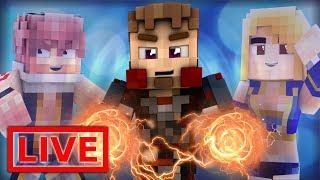 Minecraft FAIRY TAIL ORIGINS LIVE #27.1 (Minecraft Modded Roleplay)