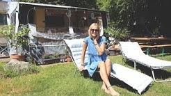 Zu Besuch bei Linda Gwerder auf dem Campingplatz