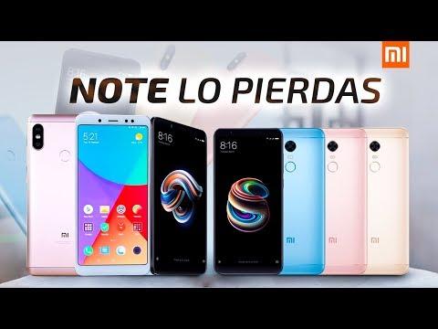 Xiaomi Redmi Note 5, Redmi Note 5 Pro | TODOS LOS DATOS