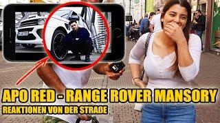 APORED RANGE ROVER MANSORY   LIVE REAKTIONEN VON DER STRAßE 😱 - Leon Lovelock