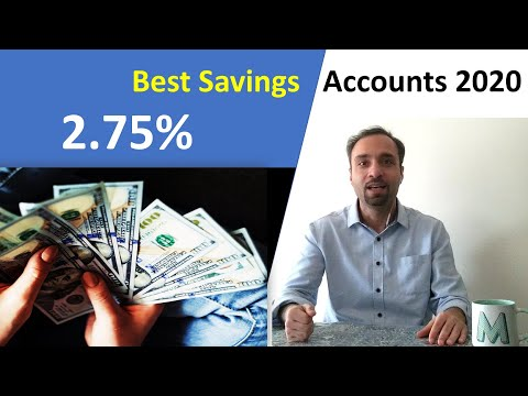 The BEST Savings Accounts Of 2020 In Canada (High Interest Rates)