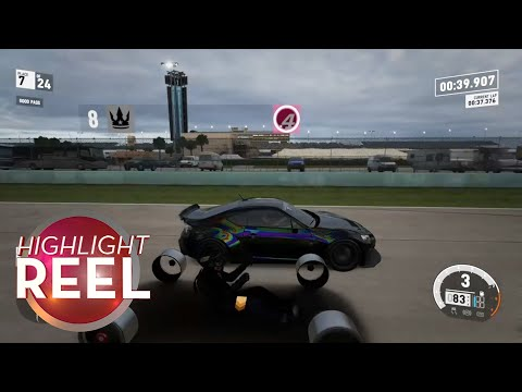 Highlight Reel #337 - Glitched Forza Car Is Very Stripped-Down