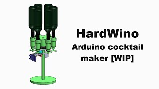 [TUTO][WIP] HardWino : Arduino cocktail maker
