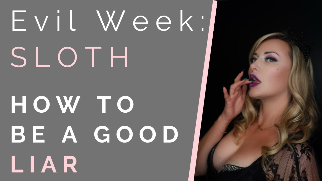 Download EVIL WEEK: RULES OF DECEPTION: How To Be A Good Liar & Manipulate Others   Shallon Lester