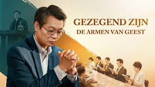 Gospel film 'Gezegend zijn de armen van geest' Een dominee vond de weg om van zonde vrij te komen