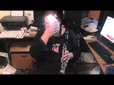 Tutorial on articulation in the upper register in the context of Copland Clarinet Concerto Cadenza