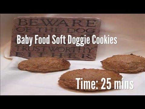 Baby Food Soft Doggie Cookies Recipe