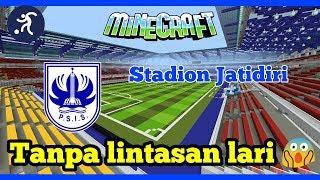 Stadion Jatidiri Tanpa Lintasan Lari 😱
