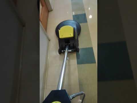 (Video 3) Buffing VCT Tile Floor
