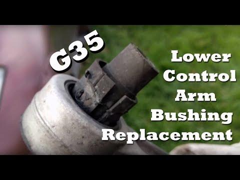 2005 Infiniti G35 Lower Control Arm Bushing replacement – Whiteline Bushing