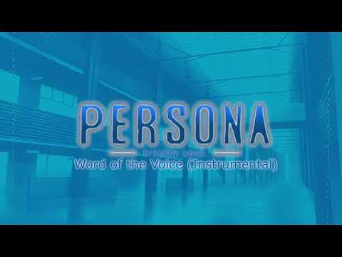 Word of the Voice (Instrumental) - Persona Trinity Soul