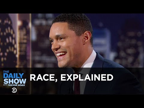 Trevor's 10-Year-Old Brother Explains Race – Between the Scenes | The Daily Show