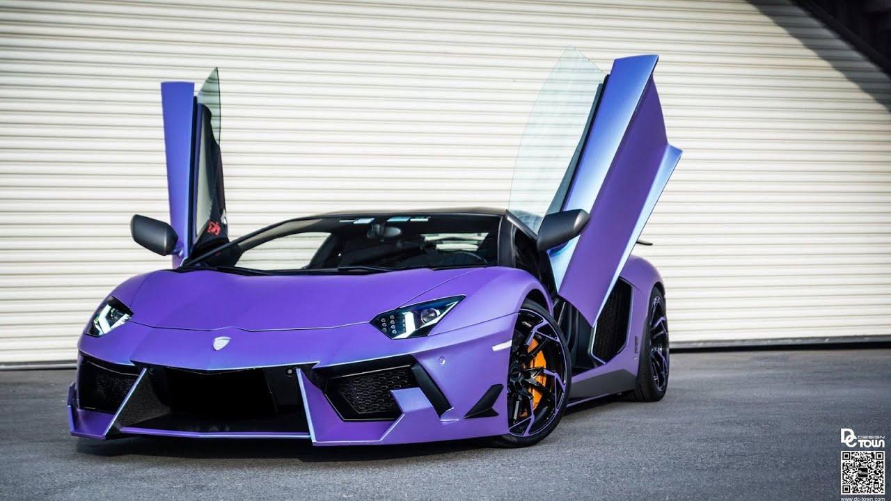 dmc purples lamborghini aventador lp760 4 dragon edition