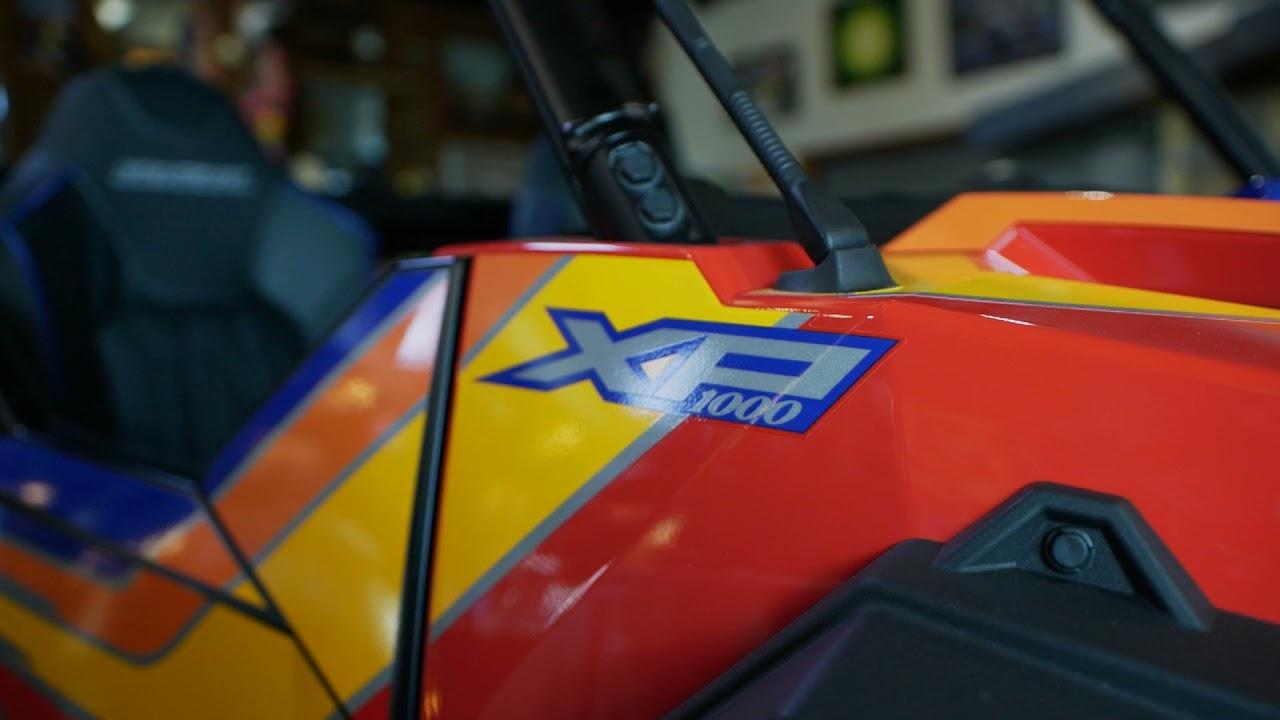 GENERAL XP 1000 TROY LEE DESIGN EDITION | POLARIS OFF-ROAD VEHICLES