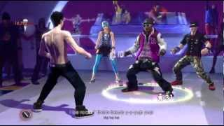 The Black Eyed Peas Experience Boom Boom Pow tutorial and dance 720P gameplay Xbox 360 Kinect