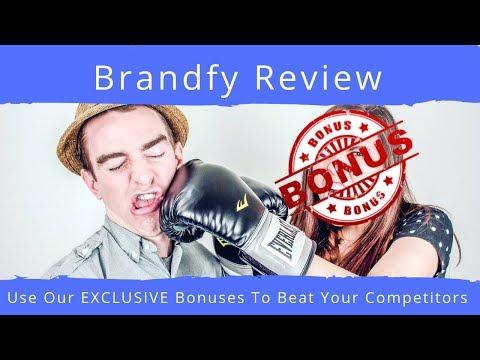 Brandfy Review|Brandfy Demo With EXCLUSIVE Brandfy Bonus