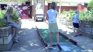 Bunny Hutch Mini Golf 8/9/2011 10