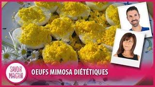 Recette légère : Oeufs mimosa diététiques