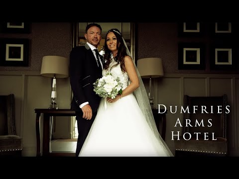 Paul and Shelly's wedding film at Dumfries Arms Hotel Ayrshire