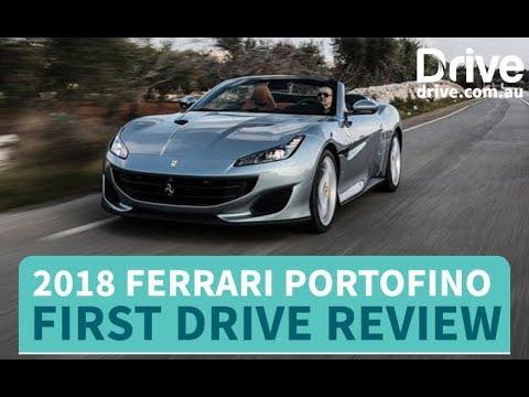 2018 Ferrari Portofino First Drive Review   Drive.com.au - Dauer: 4 Minuten, 33 Sekunden
