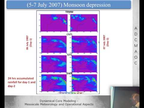 Prof. U.C. Mohanty - Meso-scale modeling of extreme weather events in tropics -- lecture 1