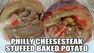 Philly Cheese Steak Stuffed Potato Recipe  Episode 222