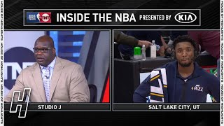 Donovan Mitchell Responds to Shaq's Criticism - Inside The NBA | January 21, 2020-21 NBA Season