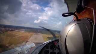 Sport Cruiser PS28 Warsaw Babice Approach Touch&Go - EPBC - Polish Aviator - Lądowanie Konwojer