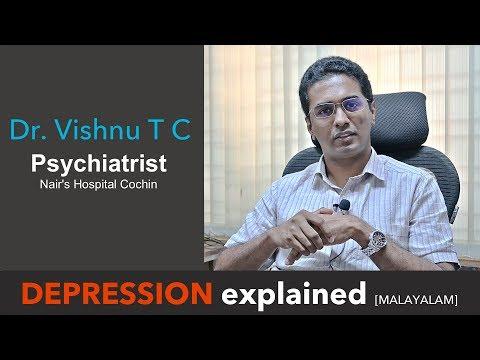 Treat Depression- Psychiatrist Dr.Vishnu  [Malayalam]